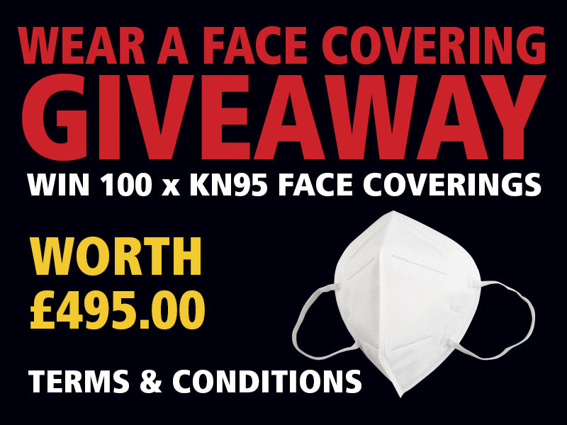 F4p facecoverings giveaway t cs news